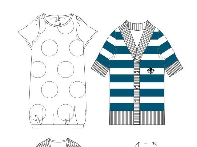 服裝設計繪畫表現造型課程