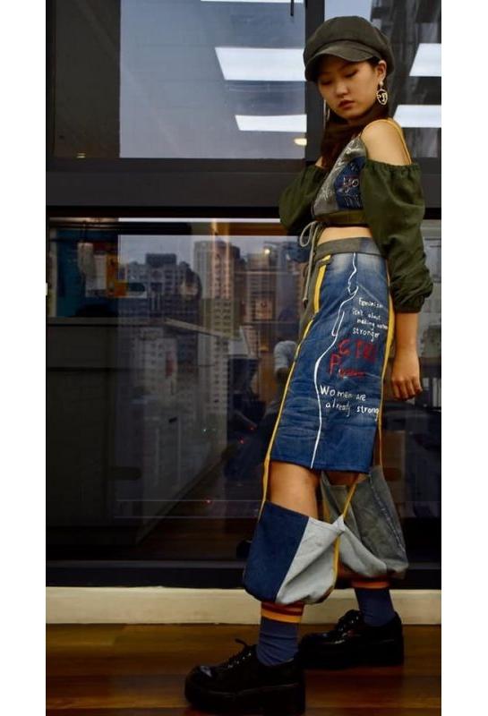 服裝設計舊衣改造 LOGO設計_3