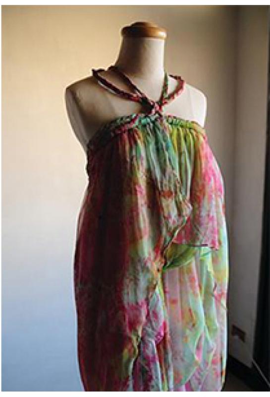 南島度假風格洋裝