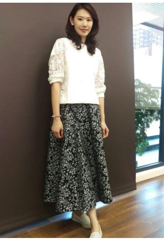 學員設計作品_浪漫八片裙
