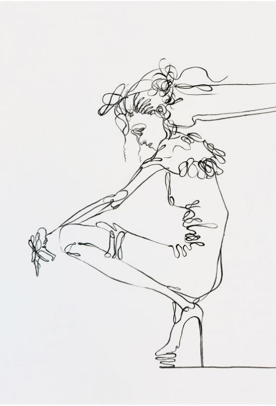 流線型黑白服裝設計描繪_3